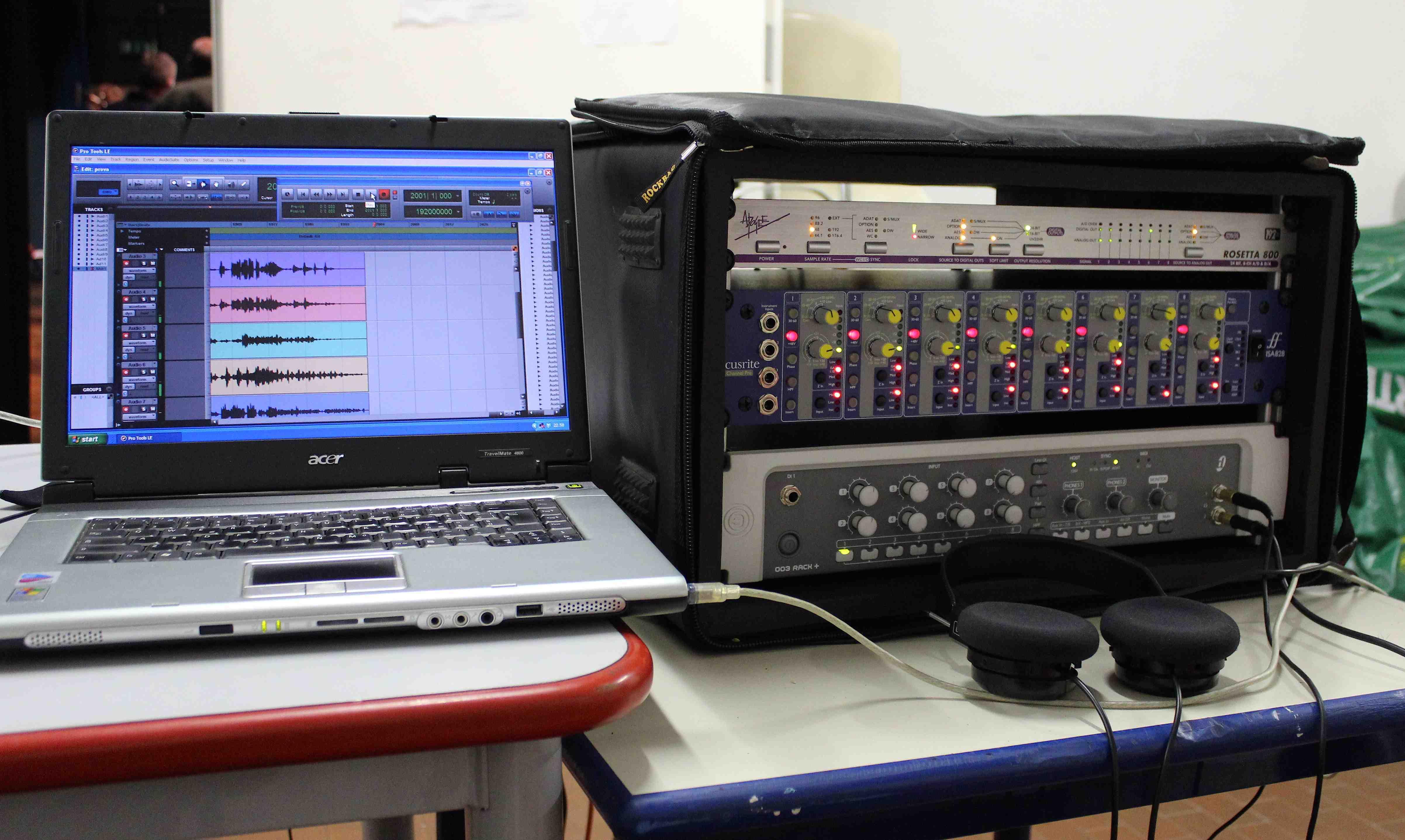 Studio di registrazione monza il portale di monza e brianza - Studio di registrazione in casa ...