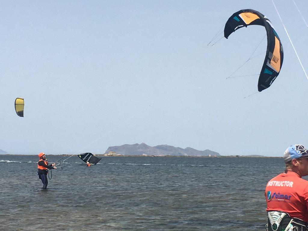 Kitesurf lo Stagnone Marsala